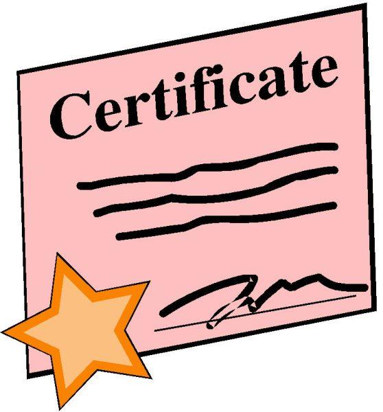 duik certificaat