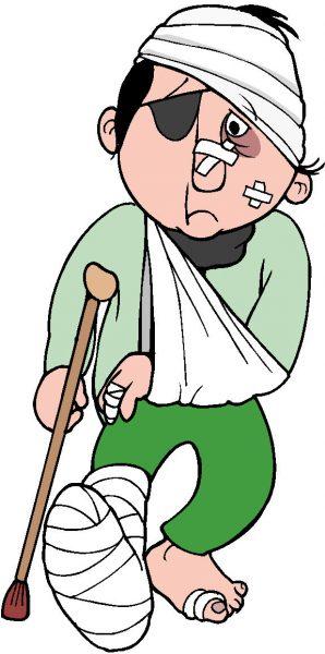 Sporten met blessures