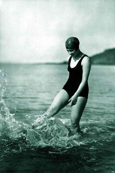 Geschiedenis van het zwemmen