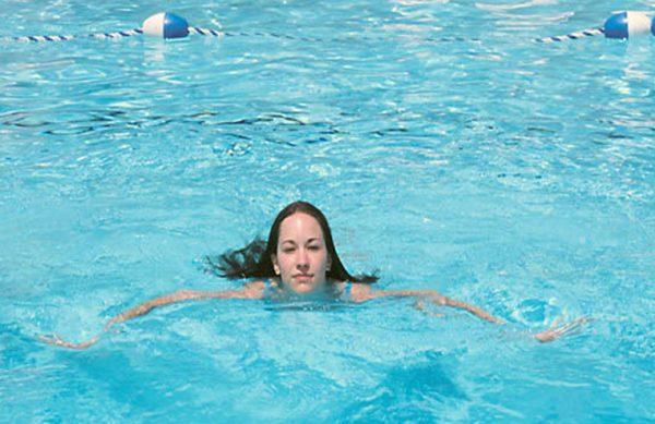 Zwemmen van de schoolslag