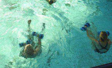 Aquatraining voor 50plussers en senioren