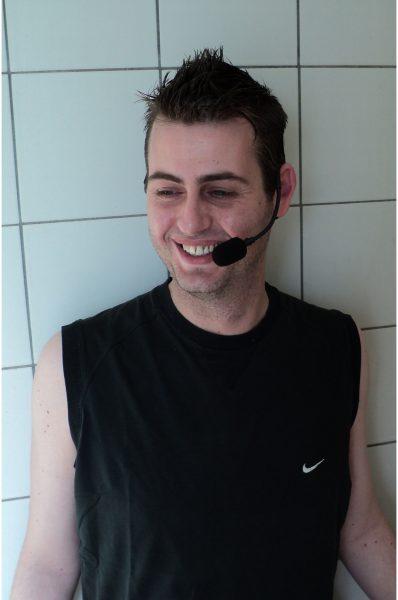 Personal (aqua) trainer Michael